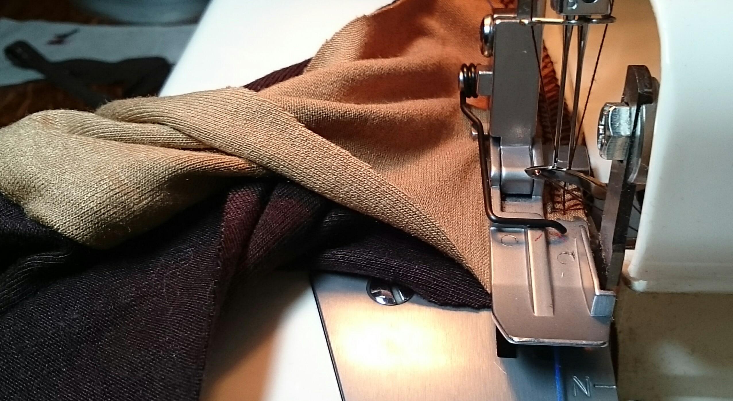 Как сшить брюки без оверлока