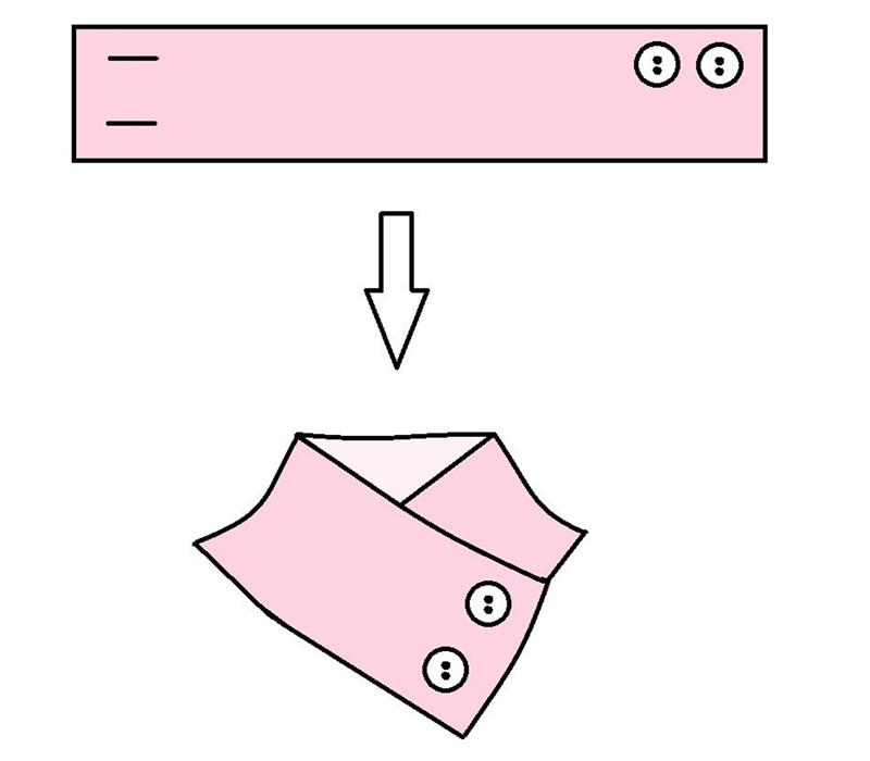 非常简单可变化的领饰 - maomao - 我随心动