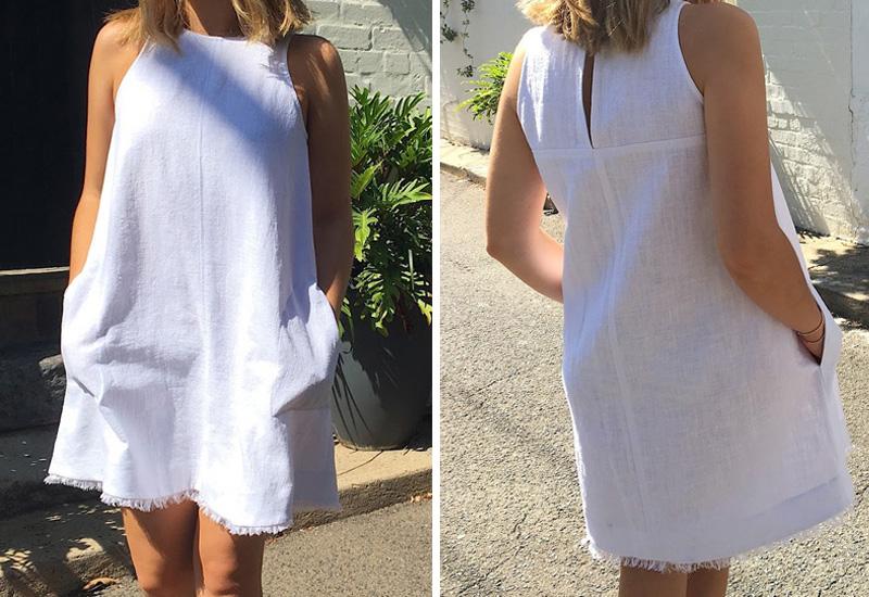 Как сделать бахрому и украсить ей летнее платье