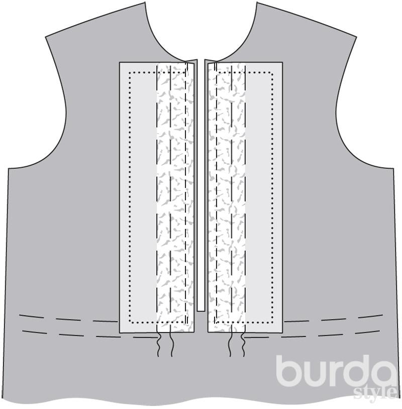 На каждую блузку пришивают 8