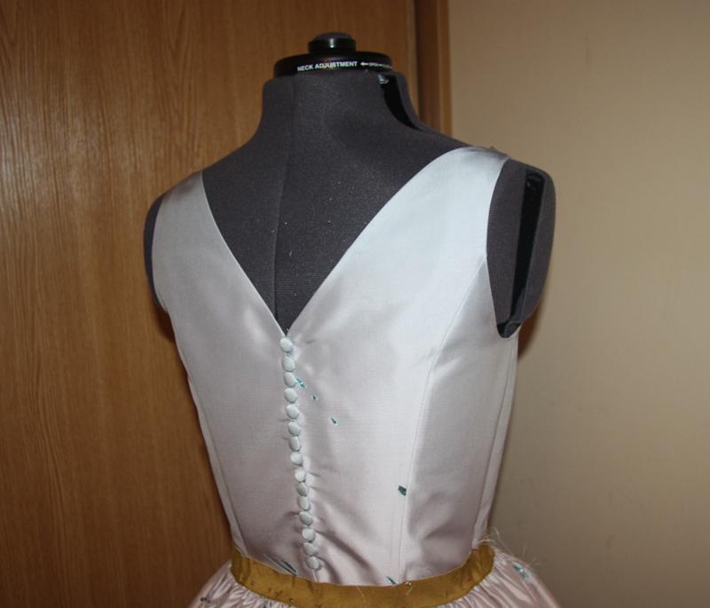 Застежка на платье фото