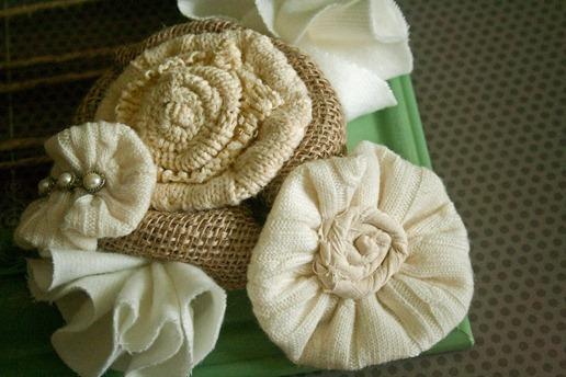 Цветы из ткани своими руками, 10 простых способов. МК oblacco 92