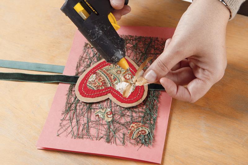 Открытка-валентинка своими руками
