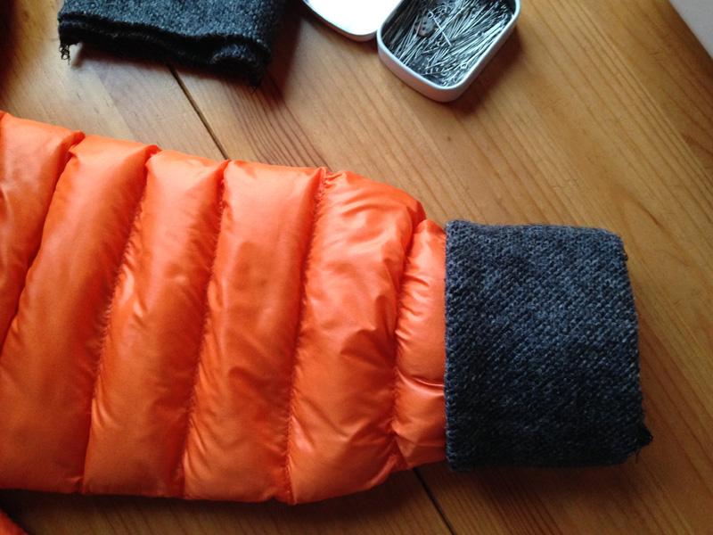 Удлиняем рукава куртки своими руками 263