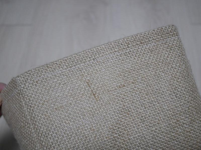 Оригинальная сумка для хранения лоскутов ткани