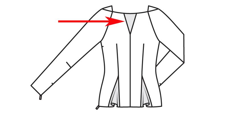 Como Costurar peça com um ângulo agudo