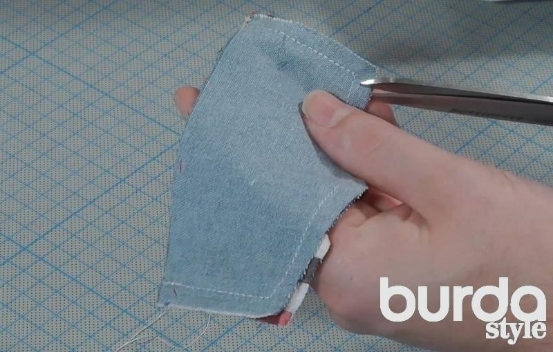 Как сшить клапан для кармана 188
