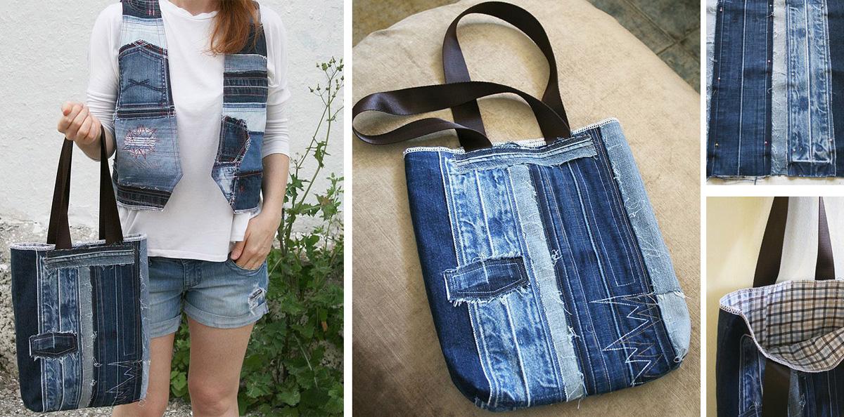 491ec1e9d99 Что сделать из старых джинсов  19 отличных идей — Мастер-классы на ...