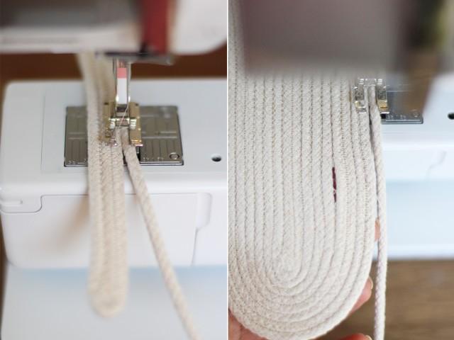 Мешок для веревки своими руками