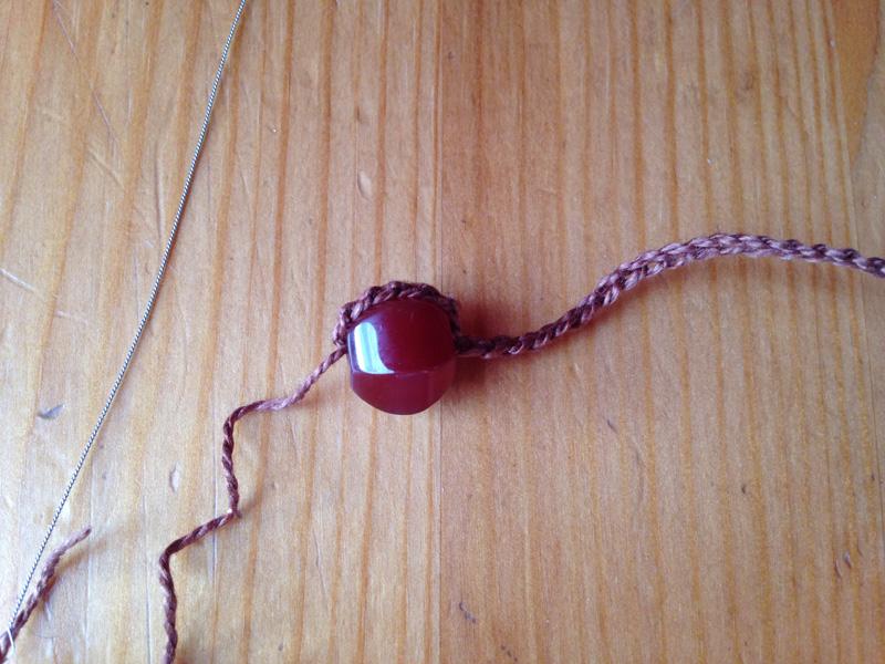 Ожерелье избусин своими руками