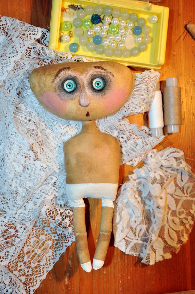Как сшить текстильную куклу своими руками