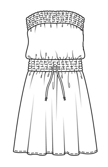 Как шить платье без выкройки 56