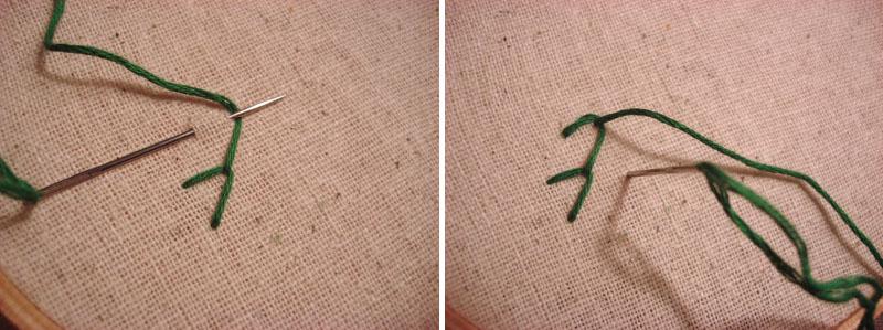 10 основных вышивальных стежков