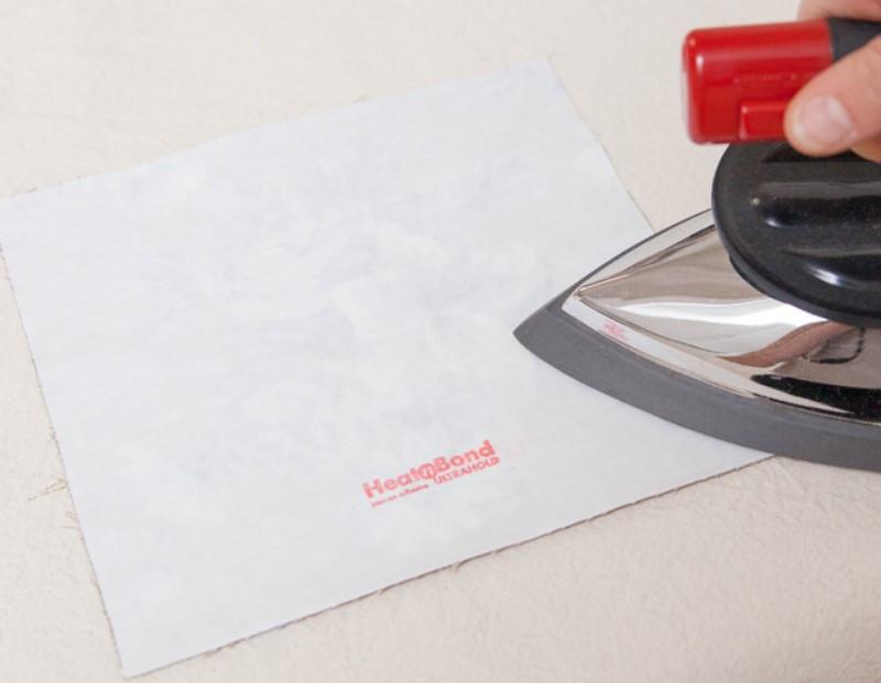 Как сделать термоклеевую аппликацию из ткани