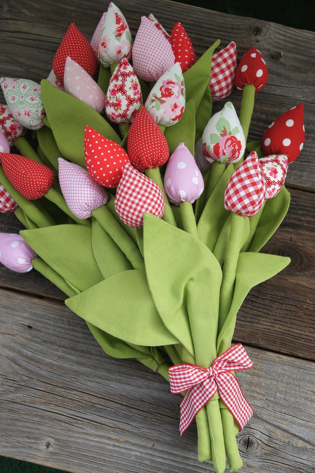 Сшить тюльпаны своими руками