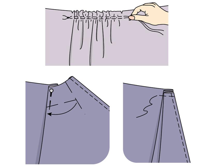 Мастер класс трикотажная юбка