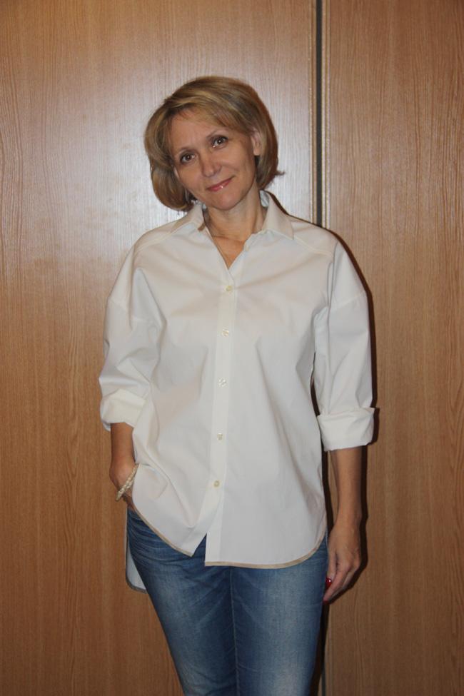 Шьем рубашку женскую из