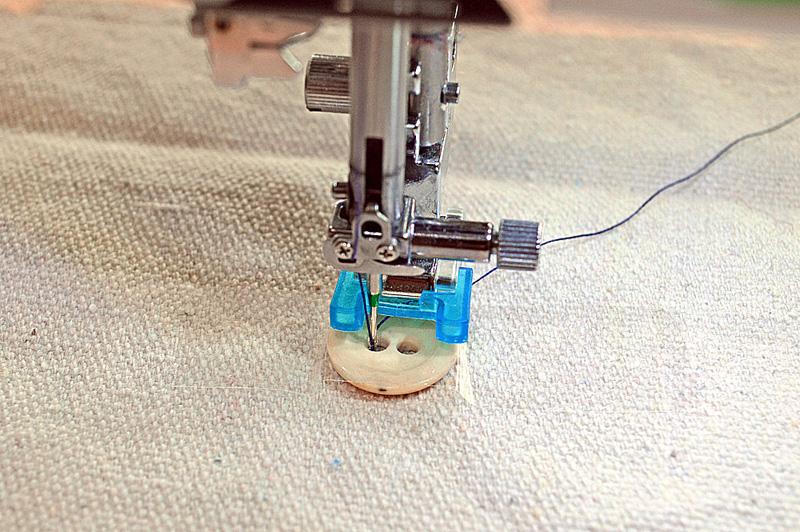 Как на машинке сделать дырку для пуговице 373