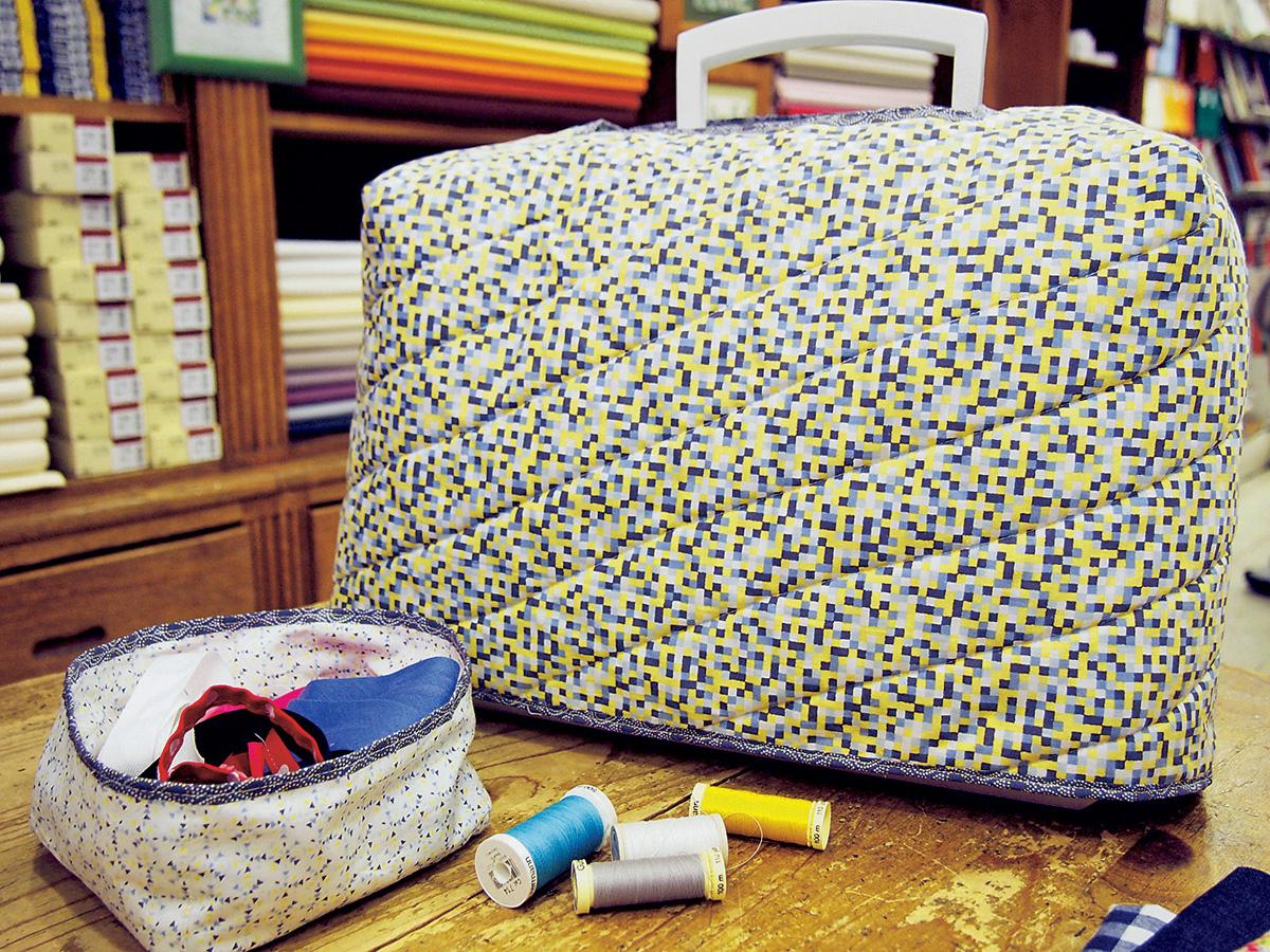 abe1822e5f91 Чехол для швейной машины своими руками: простая выкройка — Мастер ...