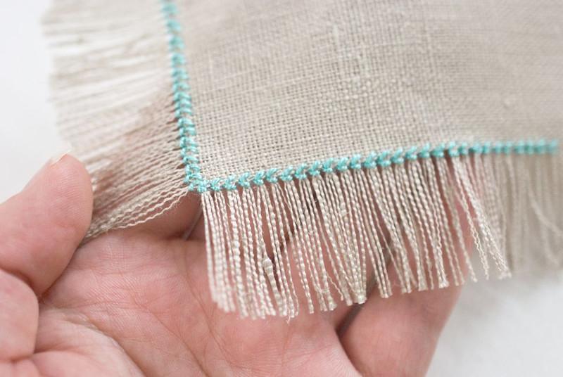 Создание бахромы в оформлении прикладной вышивки
