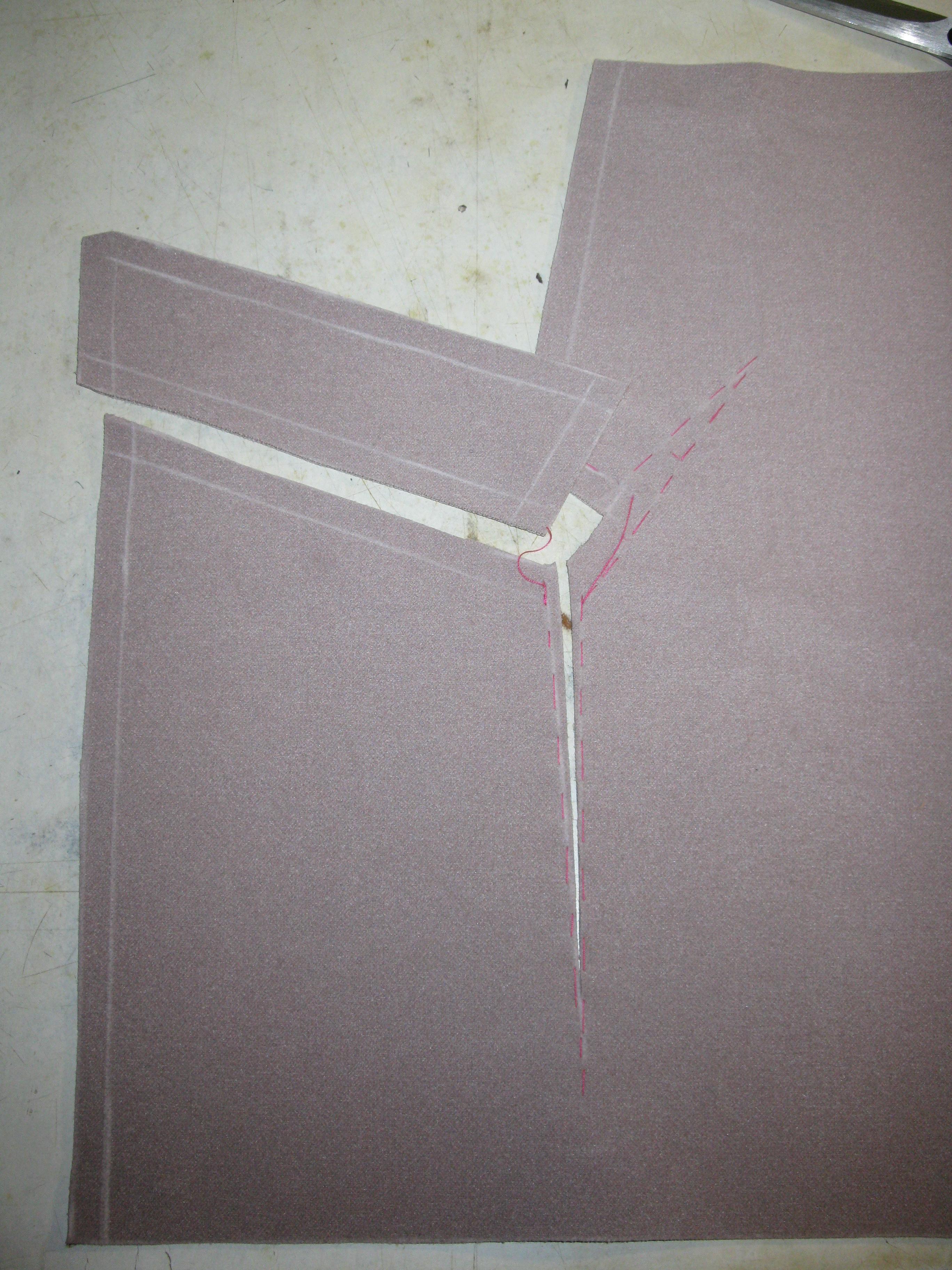 Карман с накладной листочкой от Анастасии Корфиати 5