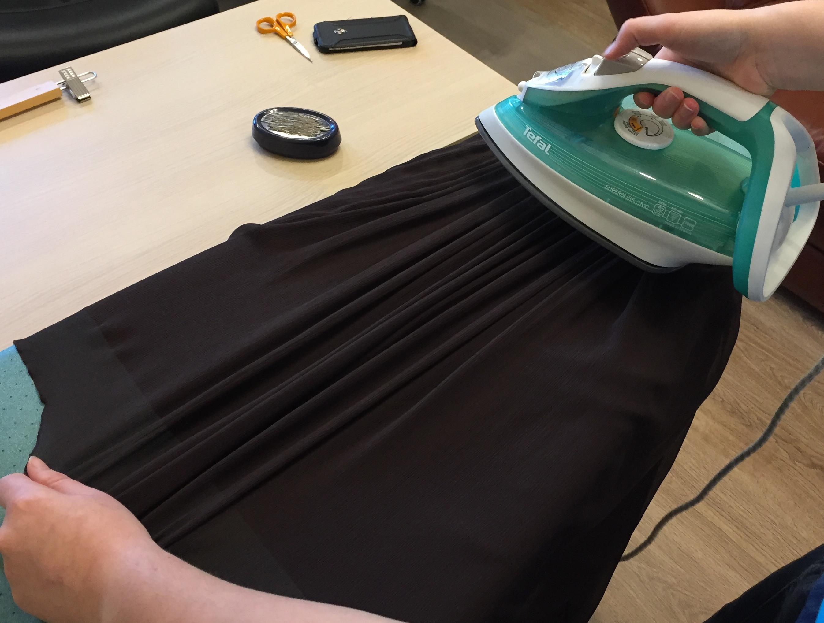 Как сделать юбку сборкой