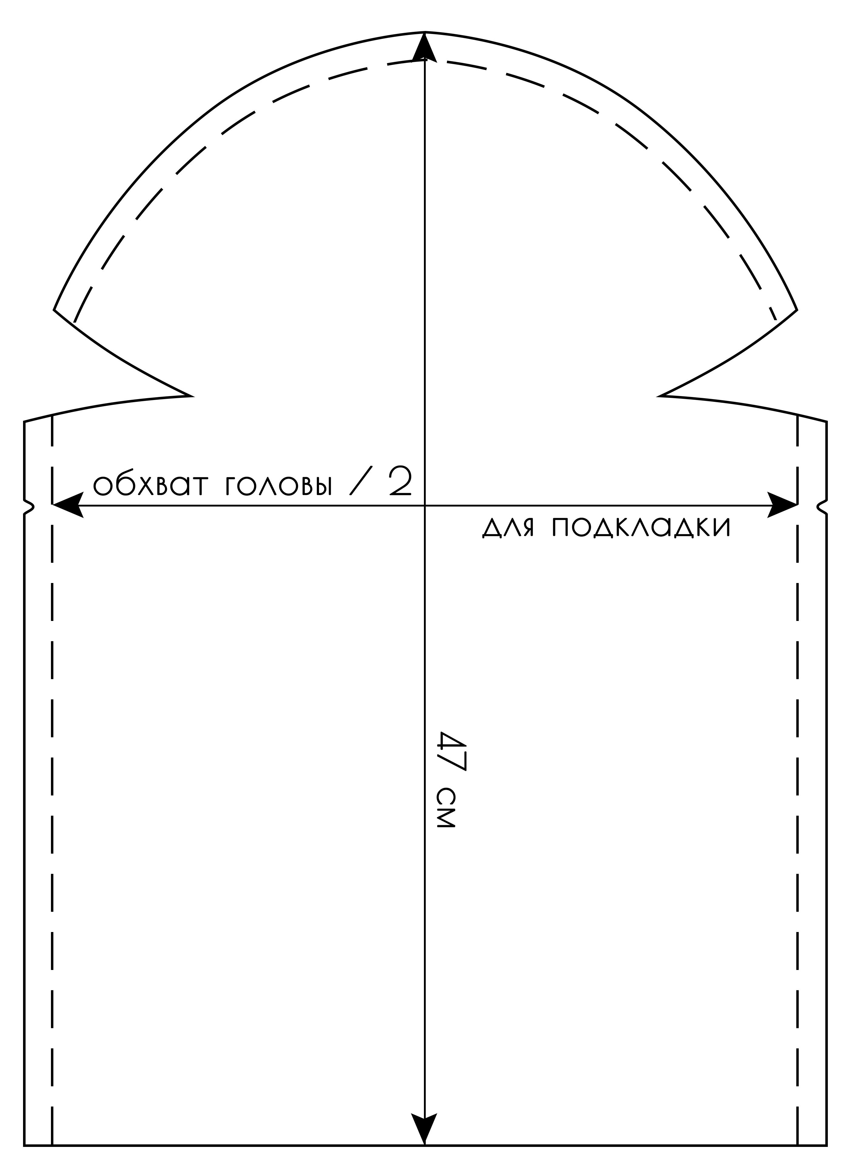 Выкройка для венчального платка фото 343