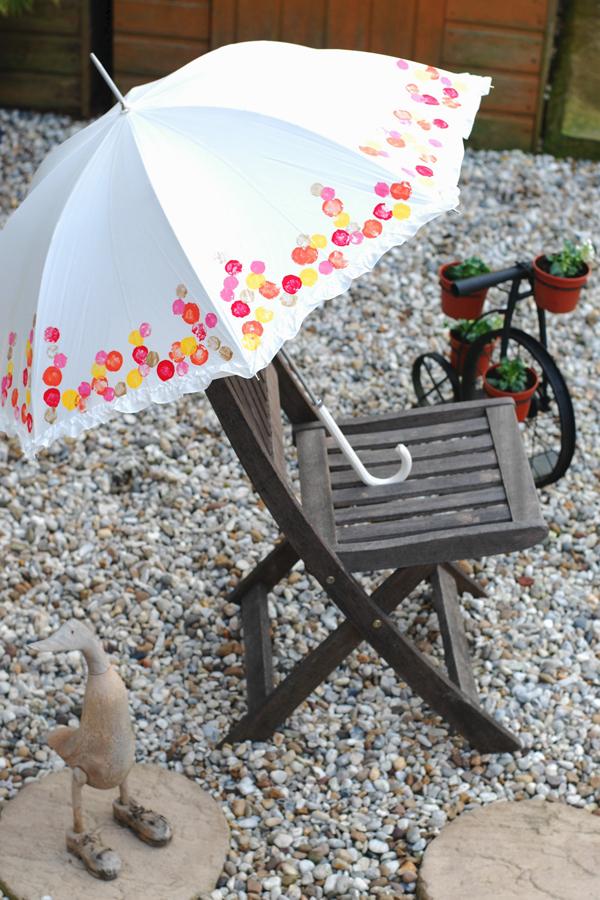 Для декора. как сделать зонтик своими руками