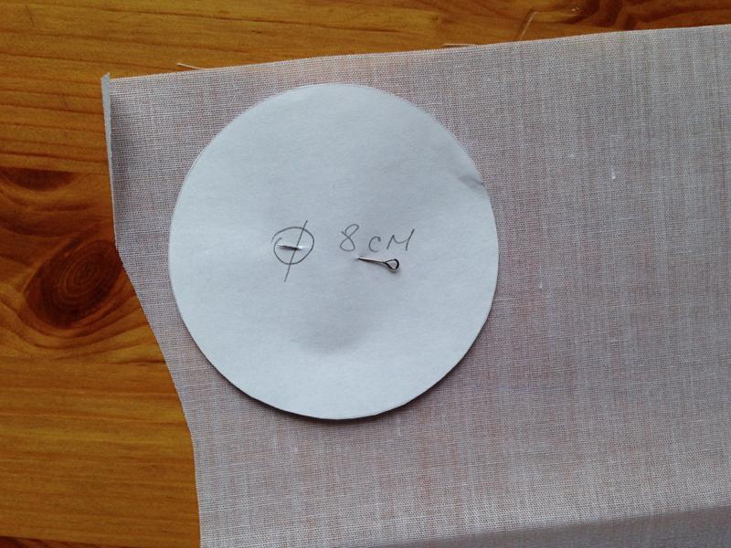 Оригинальная подарочная упаковка из ткани
