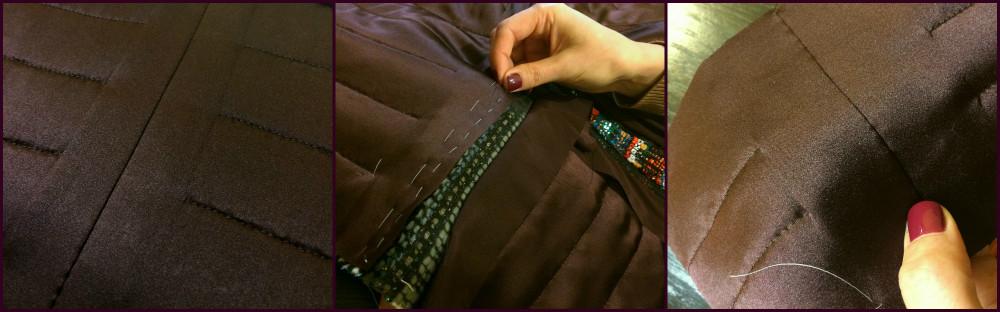Как сшить подол пальто 10