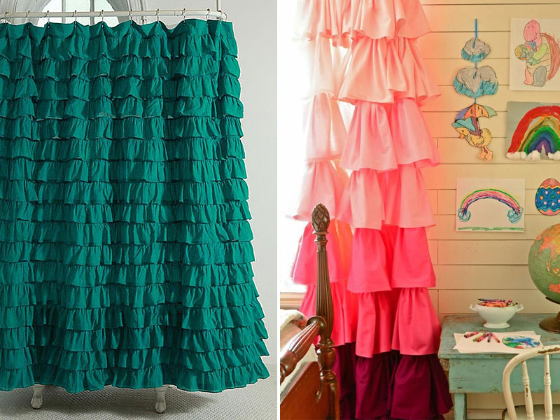 Как из штор сшить платье