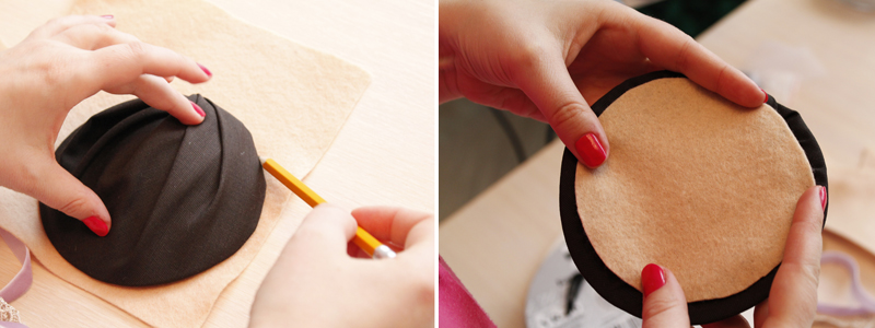 Как сшить шляпку свуалью
