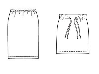 Как называются юбки на резинки