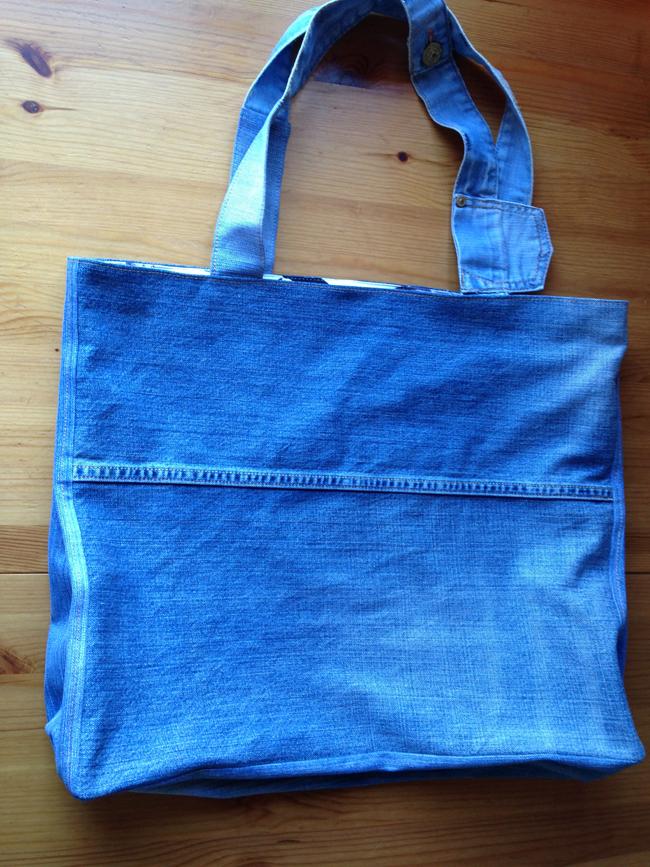 Большие сумки из старых джинсов своими руками выкройки