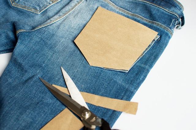 Новые карманы для джинсов своими руками