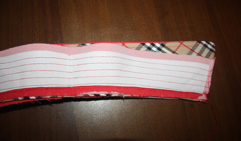 Обработка воротника на стойке по мотивам тренча Burberry