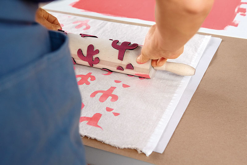 Принт ткани своими руками