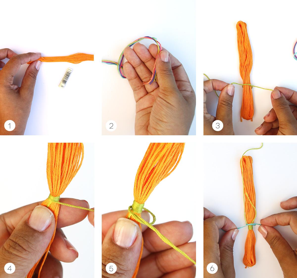 Как из ниток своими руками сделать птичку