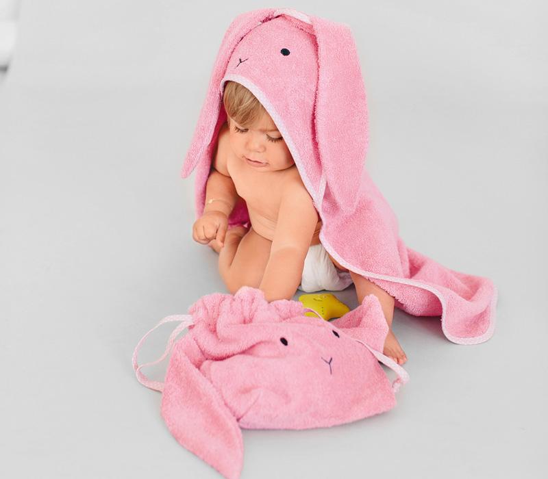 Как сшить махровое полотенце и сумку-мешок для игрушек