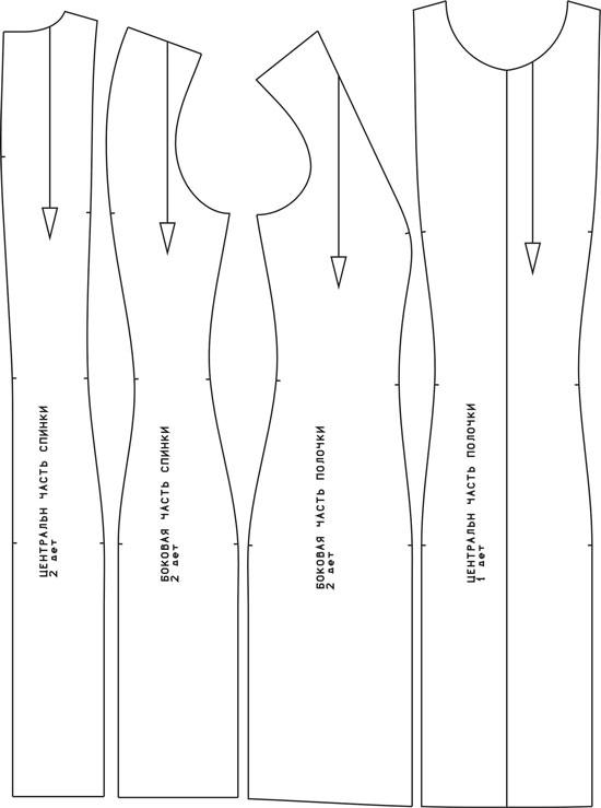 Как сшить чехол для платья выкройка 32