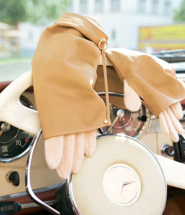 Кожаные аксессуары для автомобилистки своими руками