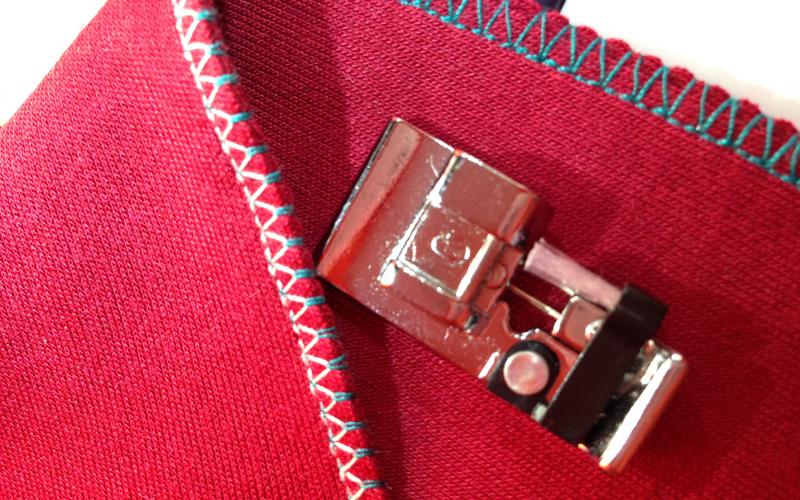 Как на швейной машинке шить трикотаж