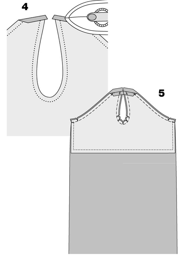 6d2ad5e5aea Летнее платье с глубоким декольте своими руками — Мастер-классы на ...