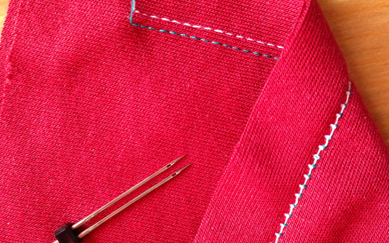 Как шить трикотаж иглой