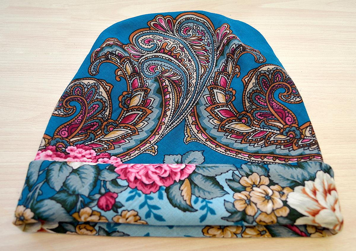 Шьем шапку и палантин из павловопосадского платка Мастер