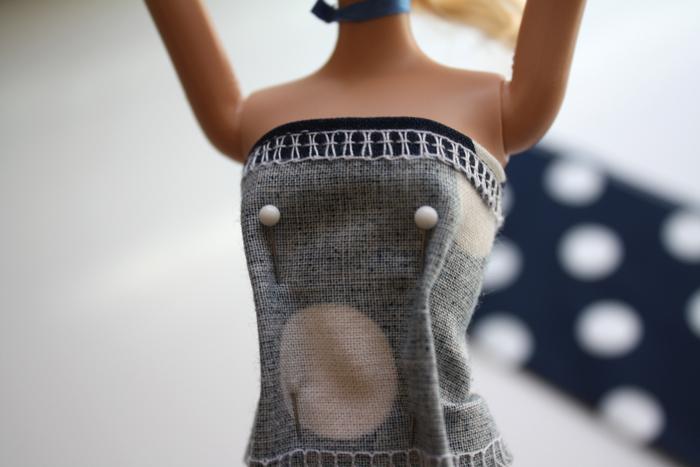 Сшить платье для мягкой игрушки