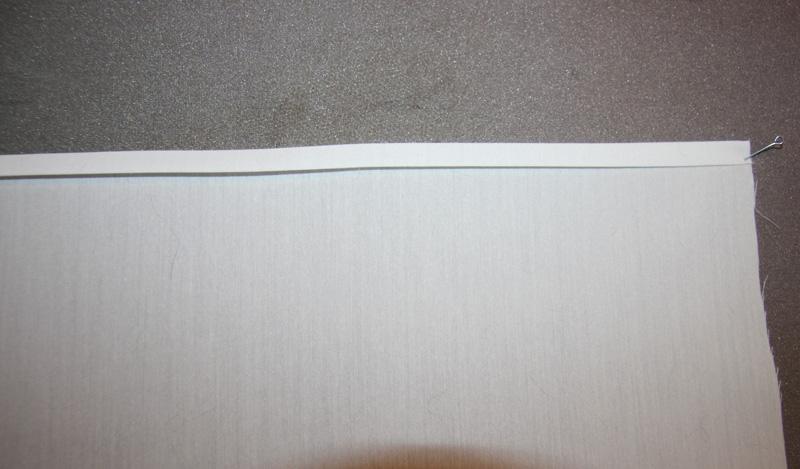 Обработка срезов изделия методом «гонконг»