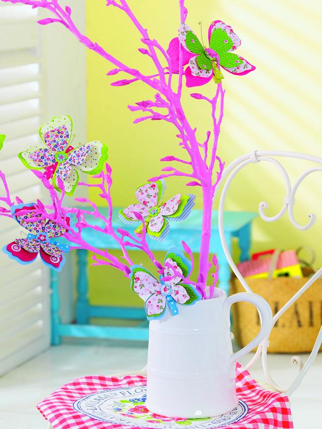 Как сделать декоративные бабочки своими руками