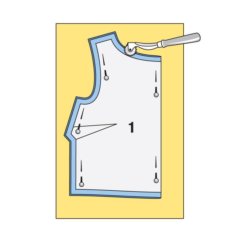 Как сшить перед и спинку