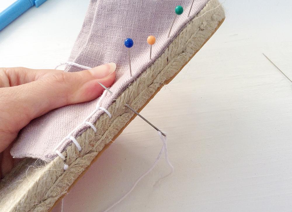 Как сшить эспадрильи своими руками